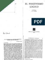 CARNAP La superación de la metafísica mediante el análisis lógico del lenguaje