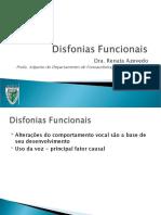 Disfonias funcionais