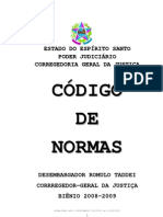 Código de Normas CGJES 2010