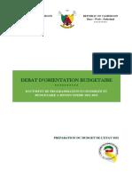 Cameroon_2021_Formulation_External_BudgetFramework_BudgetOffice_ECCAS_French