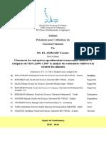 Thèse ISO 22003 v 2007 & Analyse Des Contraintes Relatives à La Sécurité Des Aliments