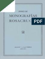 Indice de Monografias Rosacruces Grados 7 y 8