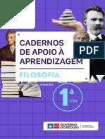 Caderno de apoio de Filosofia Unidade 02