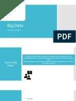 Presentación Big Data