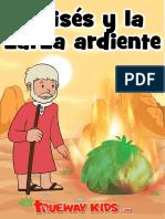 15 - Moisés y la zarza ardiente