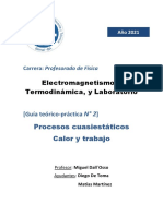 2 - Termodinámica - Procesos cuasiestáticos