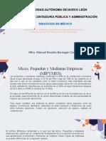 Sesión 4 Negocios en México