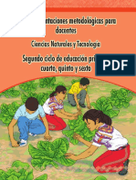 Metodologica para Medio Social y Natural