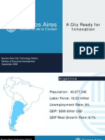 Buenos Aires A City ready for Innovation