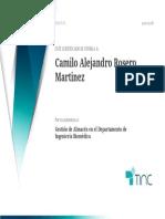 Camilo Alejandro Rosero Martinez  - 2021-07-11