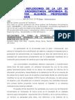 ANÁLISIS Y REFLEXIONES DE LA LEY DE EDUCACIÓN UNIVERSITARIA APROBADA EL 23