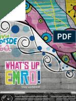 EMRO Newsletter #5 - What's up EMRO?!