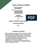 HIBRIDACIÓN DEL ATOMO DE CARBONO