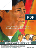 Cesar Chavez Kicks Off