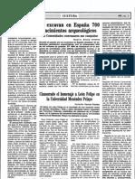 1984-07-21 - Se excavan en España 700 yacimientos arqueológicos