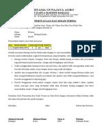 BAST & Pernyataan APD