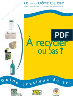 Guide Pratique Du Tri Des Déchets