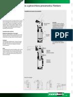 Nota Tecnica Per Dispositivo Di Serraggio a Ginocchiera Pneumatica IT