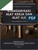 Finalisasi Buku Standarisasi Alat Uji dan Alat Kerja HARGI UITJBTB 2020