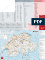 Validity area for GA, Half Fare and seven25 Travelcards