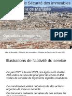 SSDI Présentation Bilan ANNEXE Opérations Exemplaires