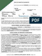 Contrato de Comodato (Termodeadesão)