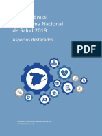 Informe Anual del Sistema Nacional de Salud 2019