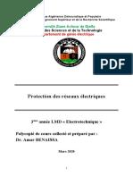 Cours Protection Reseaux Electrique 3eme ELT