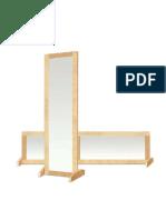 B-directional mirror
