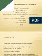 ANDREY_HINESTROZA_Clasificación y Naturaleza de Las Cuentas