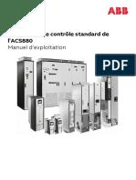 Programme de contrôle standard de l'ACS 880 - AINF280x_fr