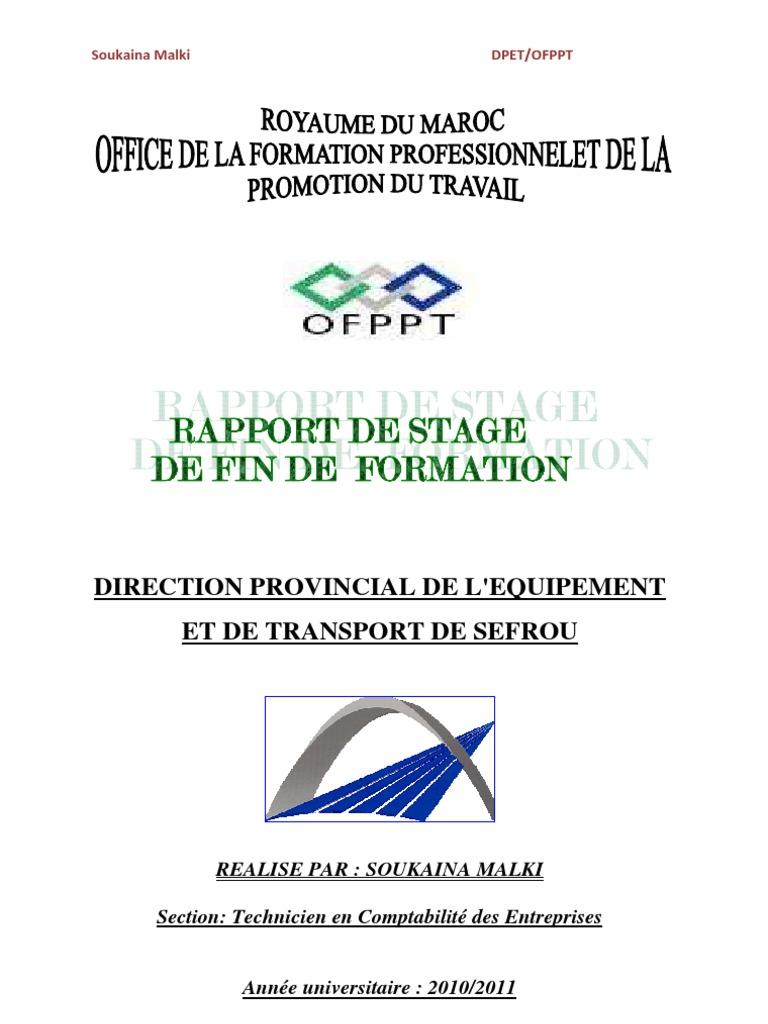 Ppt Modele Word Rapport De Stage