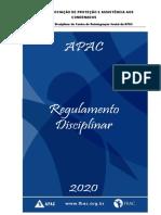 Regulamento Disciplinar 2020