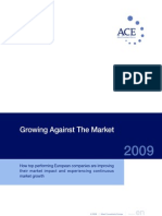 ACE Survey - Growing Against The Market
