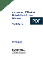 01HP - DeskJet 950c Series - Guia Do Usuário