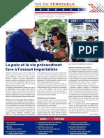 Venezuela Informează| Buletin Săptămânal 23.07.2021 - versiune limba franceza