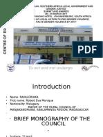 COE Manjakandriana Council