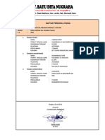 3. Personil CV. BDN - Irigasi Kolono