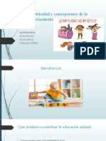 La Psicomotricidad y Concepciones de La Educacion Psicomotriz