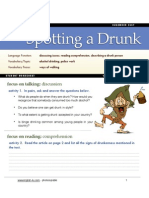 Police work-describing a drunk person- student copy