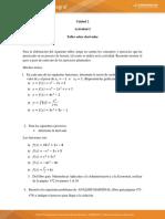 Actividad 2 -cálculo diferencial e integral