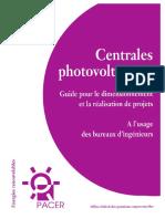 Centrales PV Guide Pour Le Dimentionneme