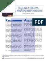 Miguel Reale_O  código Civil e a Redução das Desigualdades Sociais.
