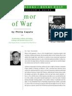 Rumor of War Study Guide