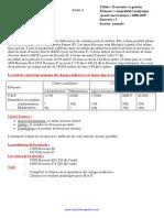 Exercices Corrigés de La Comptabilité Analytique 3 Www.economie Gestion.com