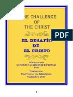 El Desafio Del Cristo