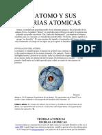 EL ATOMO Y SUS TEORIAS ATOMICAS
