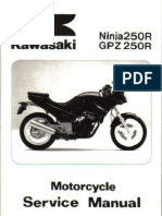 kawasaki ex250base