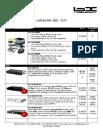 BIONIX - LISTADO DE PRECIOS CCTV EMP SEG