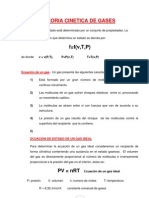 TEORIA CINETICA DE GASES